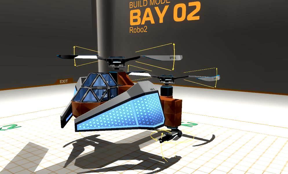 Как в робокрафте сделать вертолет 846