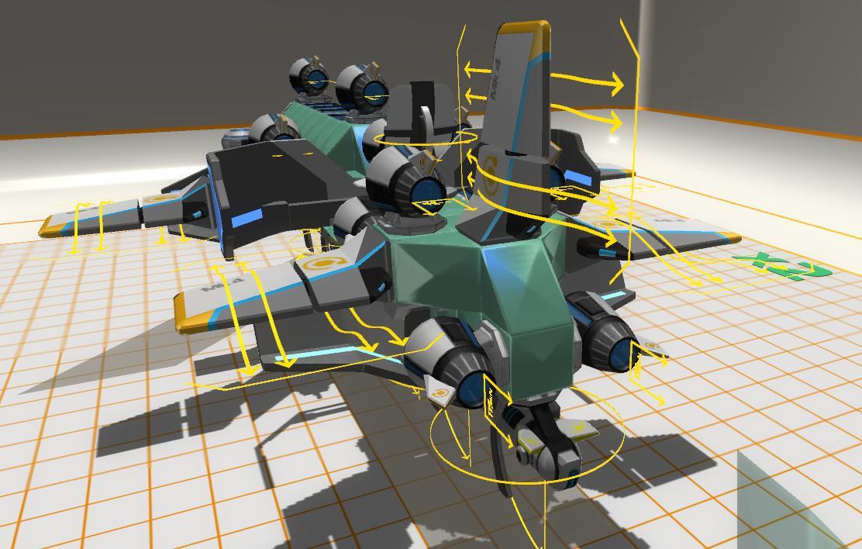 Как сделать самолёт без крыльев в robocraft