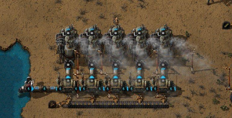factorio steam engine