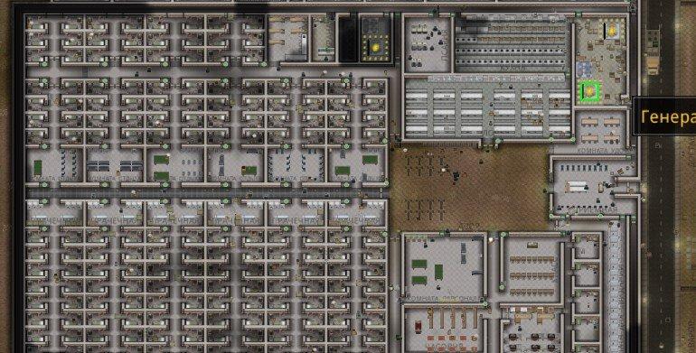 скачать карту для Prison Architect - фото 9