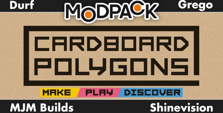 Scrap Mechanic mod The Modpack Polygons Cardboard