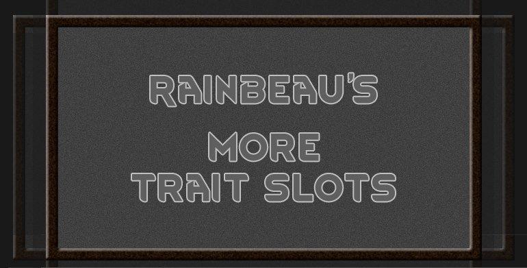 Rimworld more trait slots - CusinobaInfo