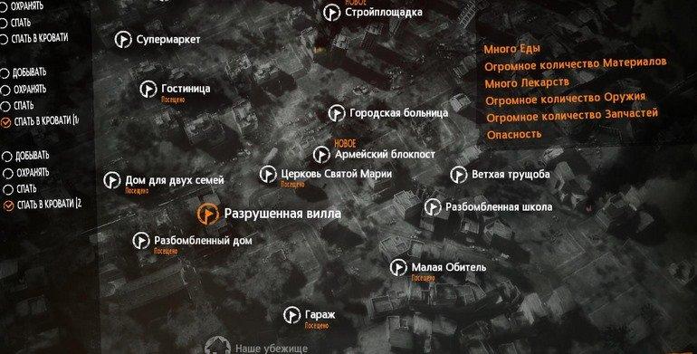 This war of mine локации