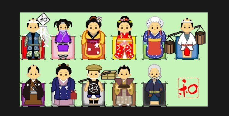 Rimworld mods in Japanese style