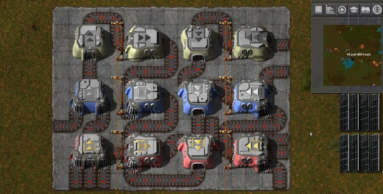 factorio mod Assembly Lines