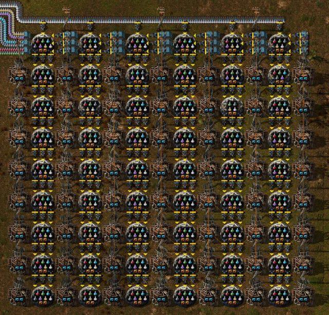 factorio lab layout
