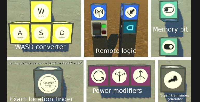 Modpack 0. 1. 33 download (oct 2016)   scrap mechanic mods youtube.